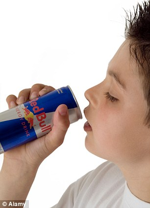 Cleverly marketed: Children think it's cool to have drinks like Red Bull