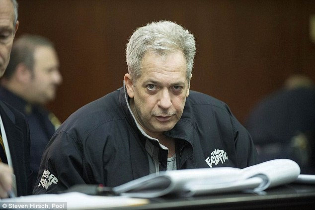 Alleged dealer: Robert Aaron Vineberg, pictured in court Wednesday, was arraigned on drug charges