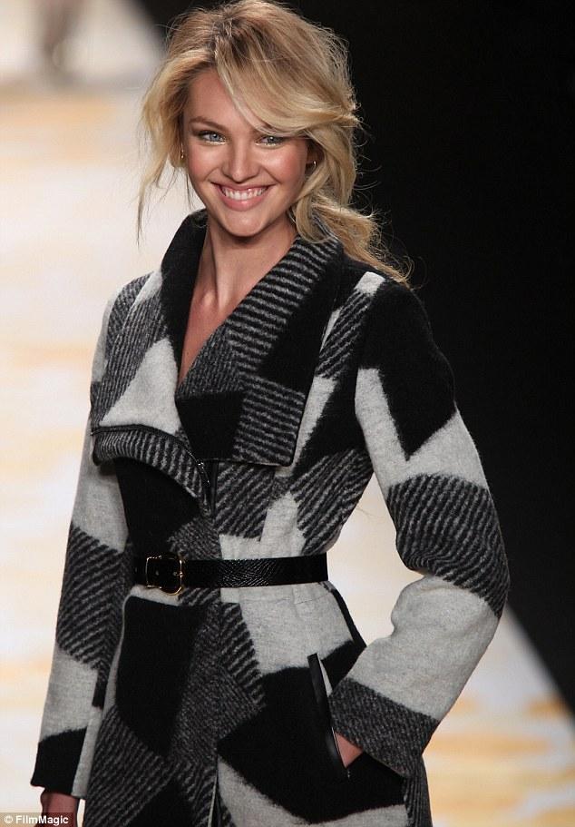 Candice Swanepoel Fights Winter Blues On NY Fashion Week