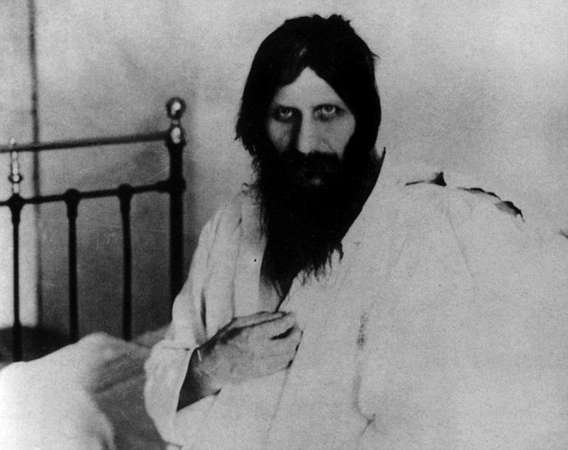 Christ-like: One myth said Rasputin could enlarge or contract his own pupils at will