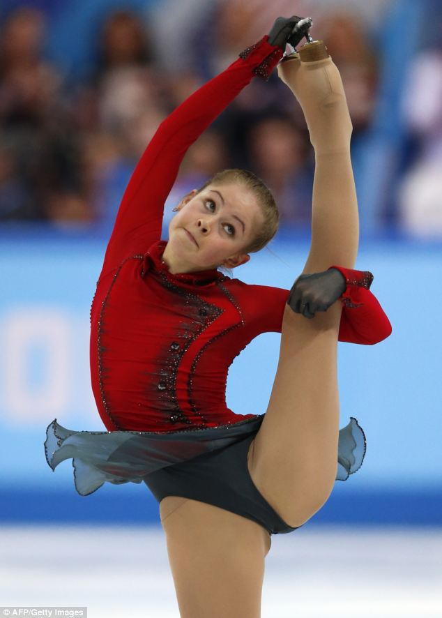 Bendy: Rusia Julia Lipnitskaia realiza su increíble rutina