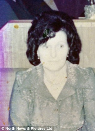 Winifred Devine (nee Brudenell), is pictured aged 27 - she is now 83
