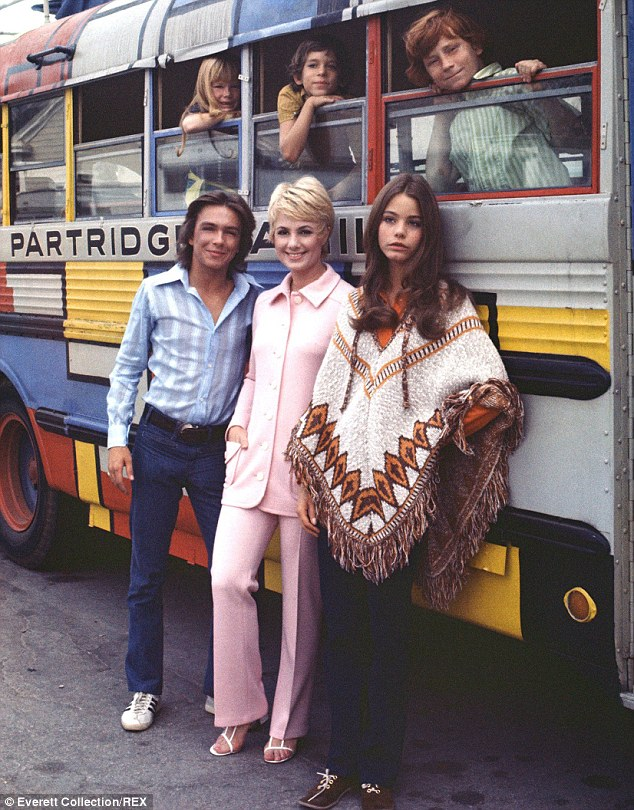 Former fame: David (front left) during his time on hit show The Partridge Family