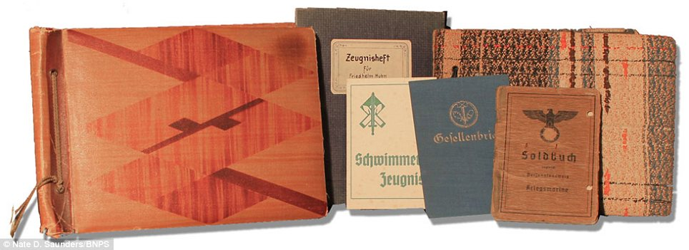 Collection: These photo albums are going up for auction in California and are set to fetch £750