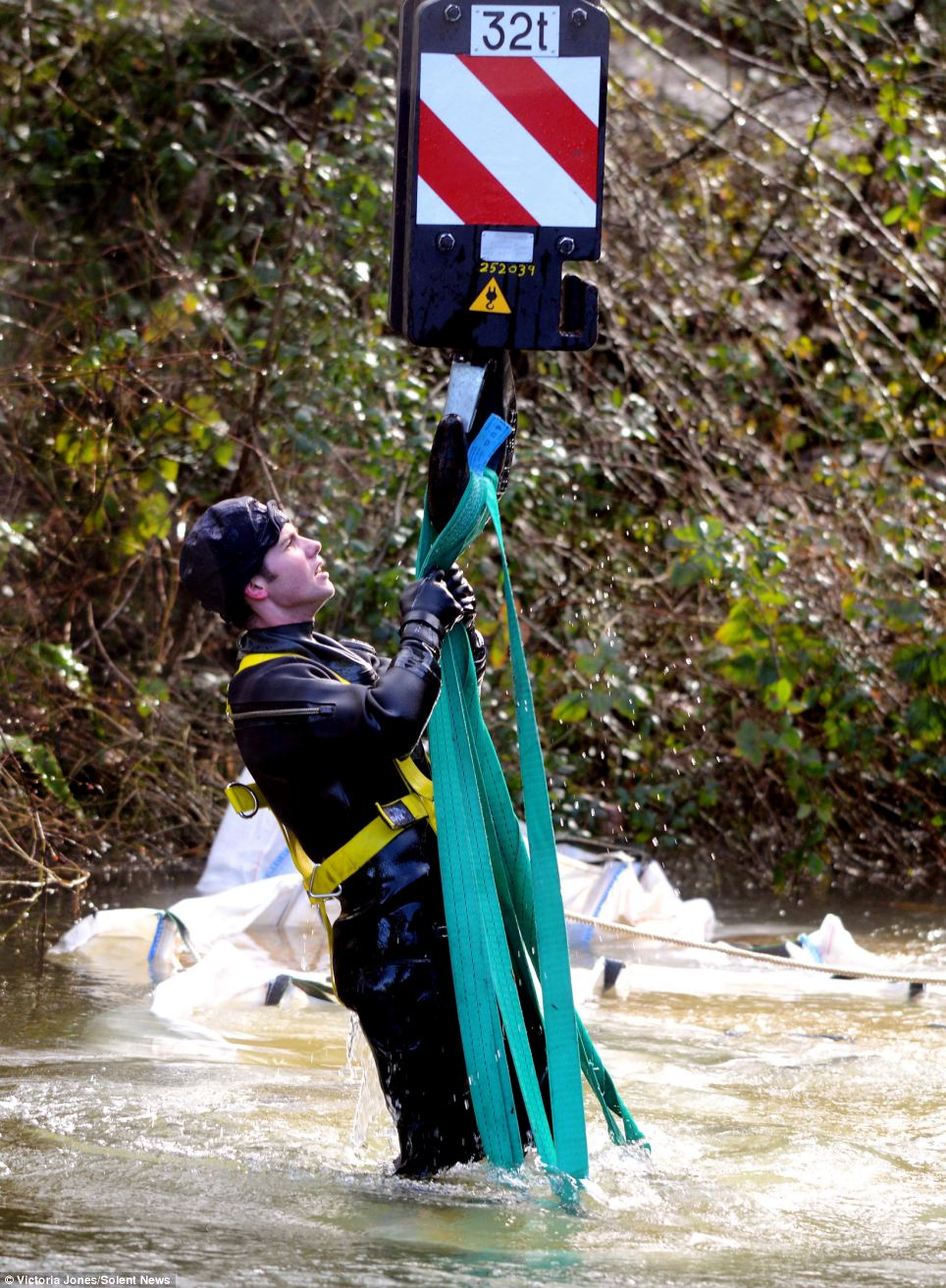 The Environment Agency said it expects levels on slow responding rivers like the Thames, like the Severn, to stay high for a number of days to come