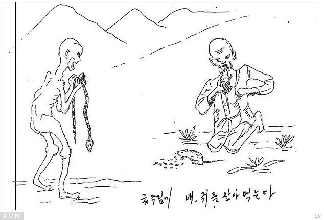 Life in North Korea's 'gulag' prison camps shown in