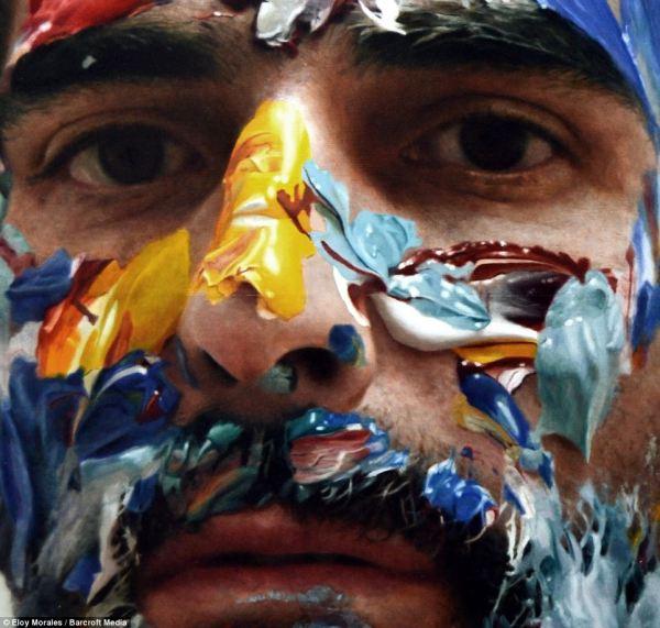 Artist Painting Himself