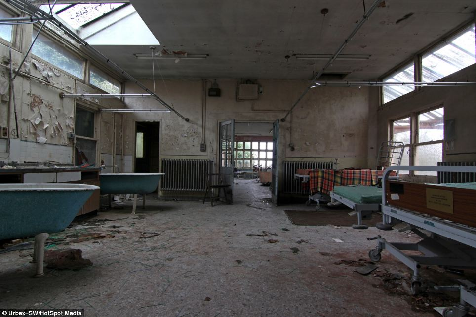 Haunting images reveal abandoned childrens TB hospital