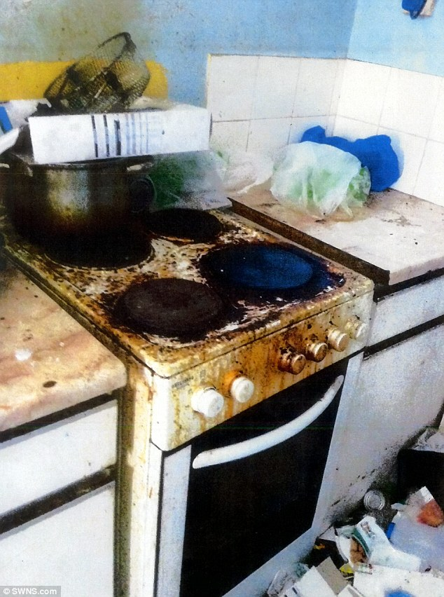 Disgusting Squalor Where Father Kept His 3 Children After