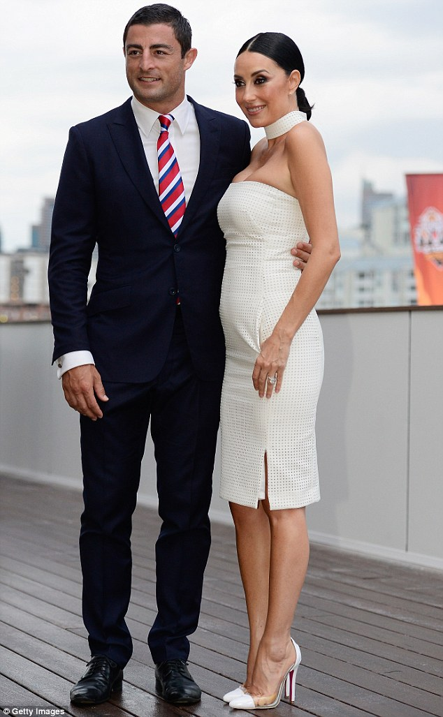 Terry Biviano Proudly Shows Off Three Month Old Daughter