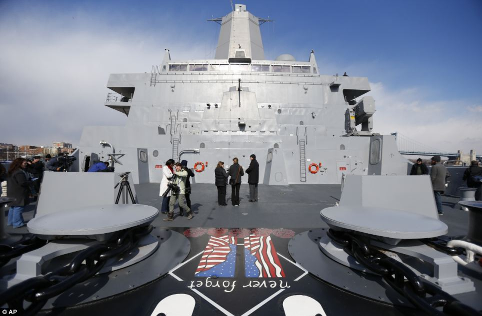 U.S. Navy's newest ship a floating tribute to those who stormed cockpit of Flight 93 on September 11