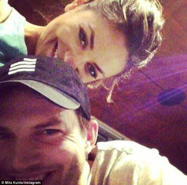 Mila Kunis Reveals HUGE Diamond Ring On Her Wedding Finger