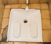 Warehouse installs European-style squat toilet   The Beer ...