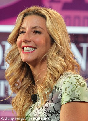 Fashion: Other veterans on the list include fashion magnet Tory Burch (left) and Spanx creator Sara Blakely (right)