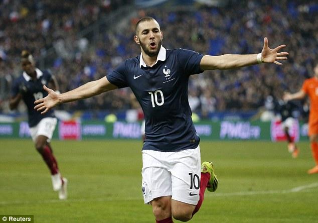 Kết quả hình ảnh cho Karim Benzema netherlands