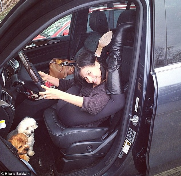 Image result for silly yoga stretch in car