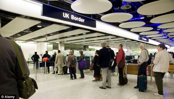 Border control at Heathrow: A new proposal by the Liberal Democrats would make it easier for migrants to bring their spouses and grandparents to live with them in the United Kingdom