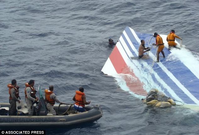 Incident echos tragedy: Mr Learmount said the disappearance of the Malaysia Airlines flight MH307 echos the Air France crash in 2009, which killed 216 passengers and 12 crew