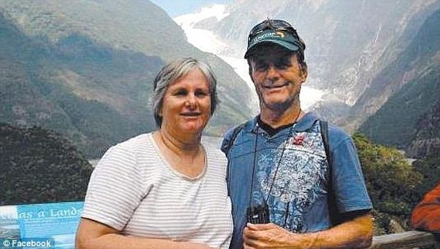 Globetrotters: Australian nationals Catherine and Robert Lawton, from Brisbane, were named as one of three couples from Down Under who were missing