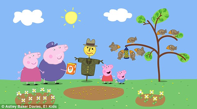 Vegetable Garden In Fall Wallpaper Peppa Pig Taught My Little Girl The F Word Daily Mail Online