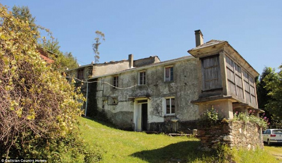According to an estate agent there are around 2,900 deserted villages in rural Spain