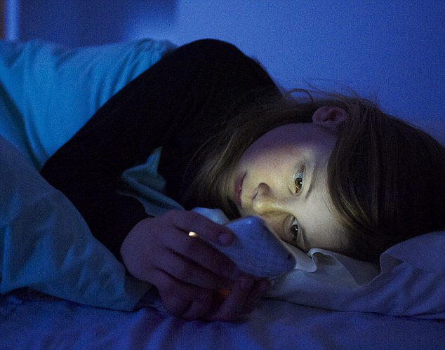 Keeping our mobiles on overnight makes us 'hypervigilant' so our sleep is more likely to be disturbed