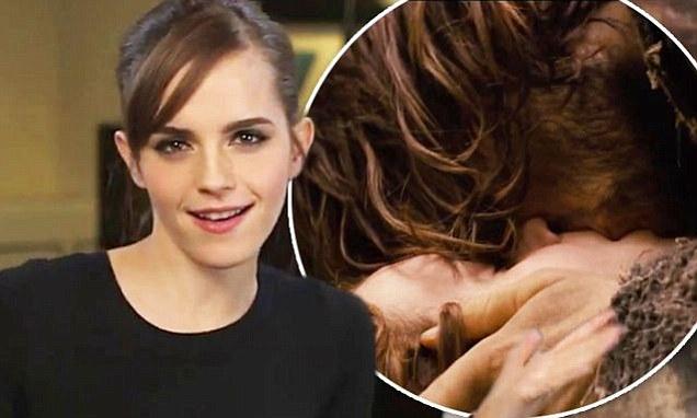 Emma Watson enjoys passionate embrace with Douglas Booth