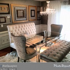 Settee For Kitchen Table Affordable Curtains Real Housewives Of Atlanta's Kenya Moore Stretches Reality ...