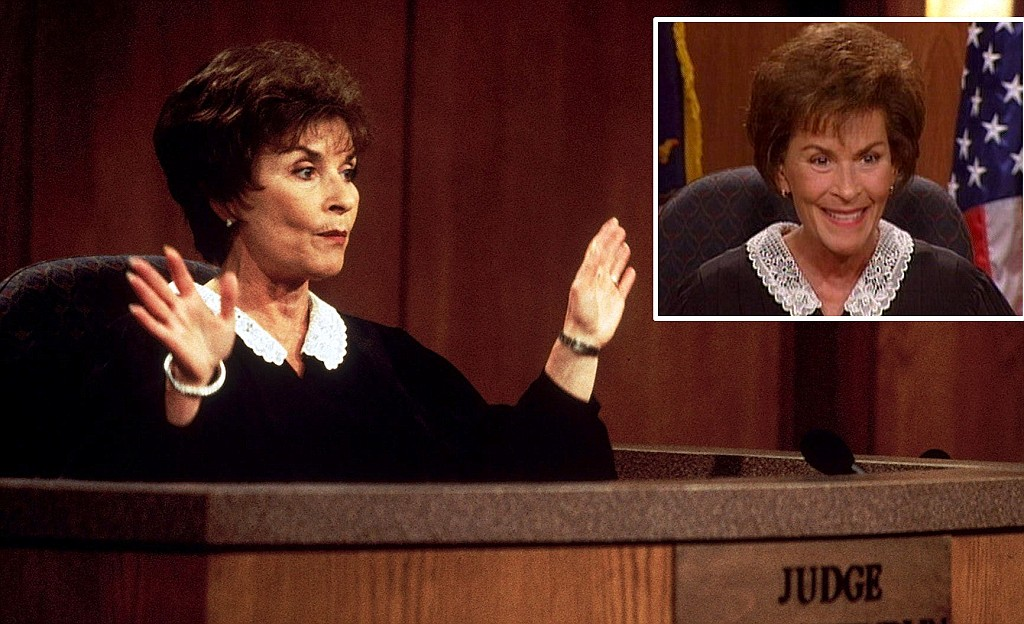 Judge Judy Steps Out From Behind The Bench To File Lawsuit Of Her Own Daily Mail Online