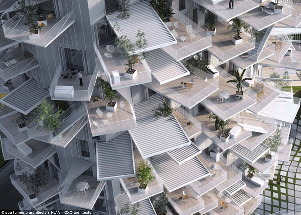 The 10,000 square metre French-designed building will be built by Japanese architects and draw influences from both countries