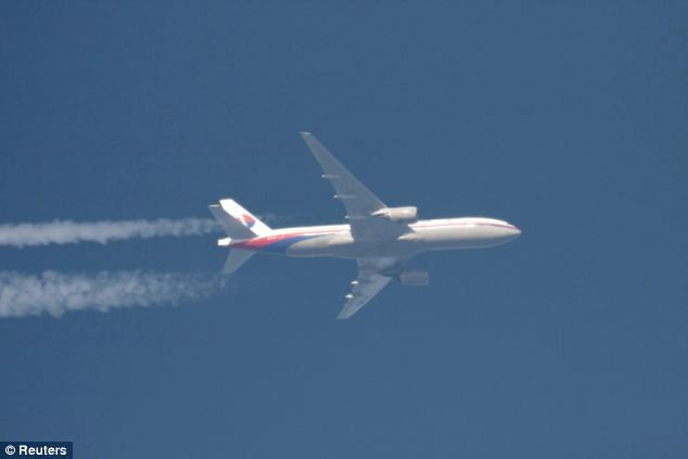 Two sources have today told Reuters an unidentified aircraft that investigators believe was Flight MH370 was following a route between navigational waypoints - indicating it was being flown by someone with aviation training - when it was last plotted on military radar off the country's north west coast (file picture)