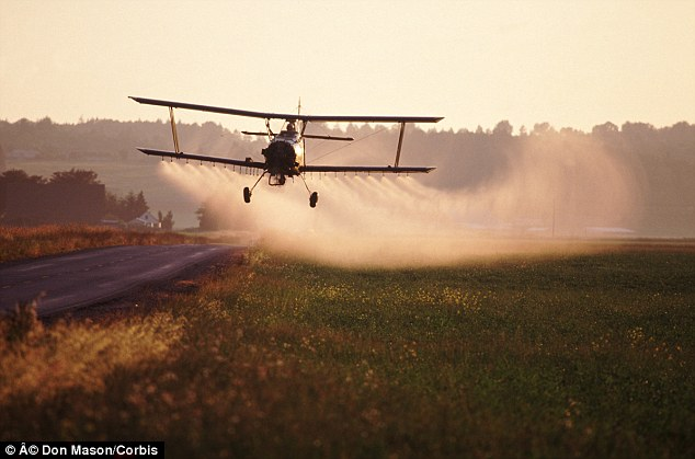 Not just genetic: Airborne toxins such as pesticides are now believed to also cause autism