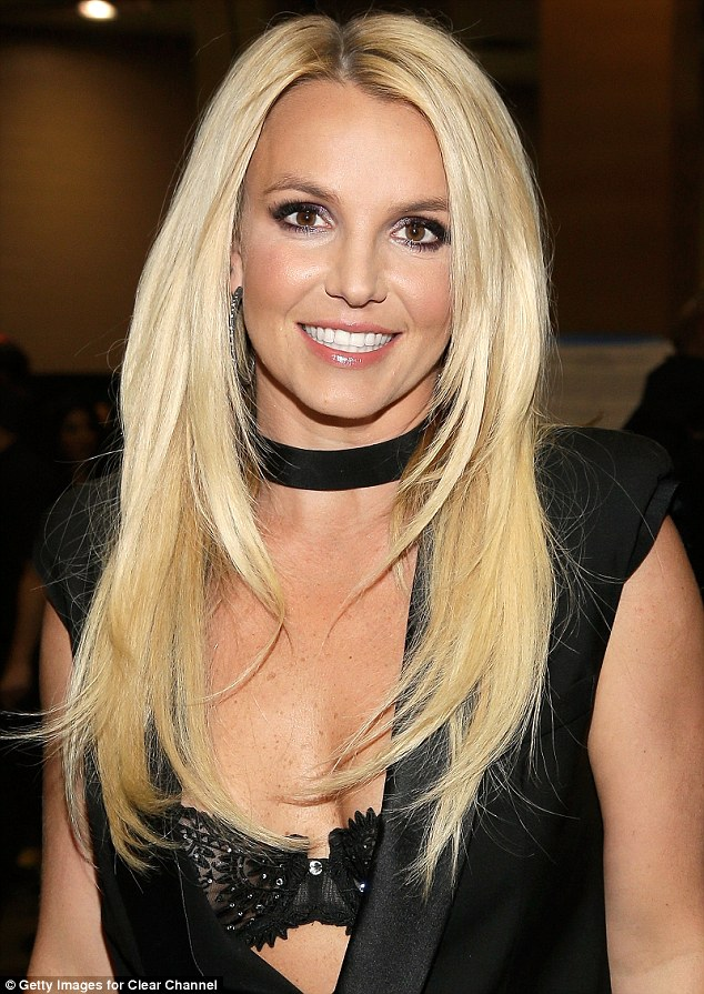 Bombshell Britney: Spears in Las Vegas in September, three months before her Piece Of Me show began