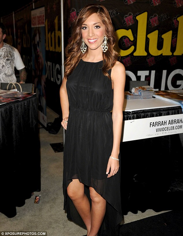 From reality star to porn star: Farrah attended the Exxxotica expo in Fort Lauderdale Florida last week