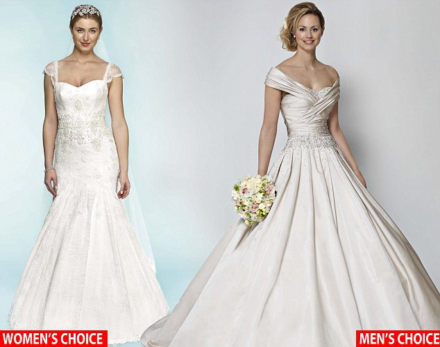 It's The Wedding Day Frock Off! Men Would Choose A