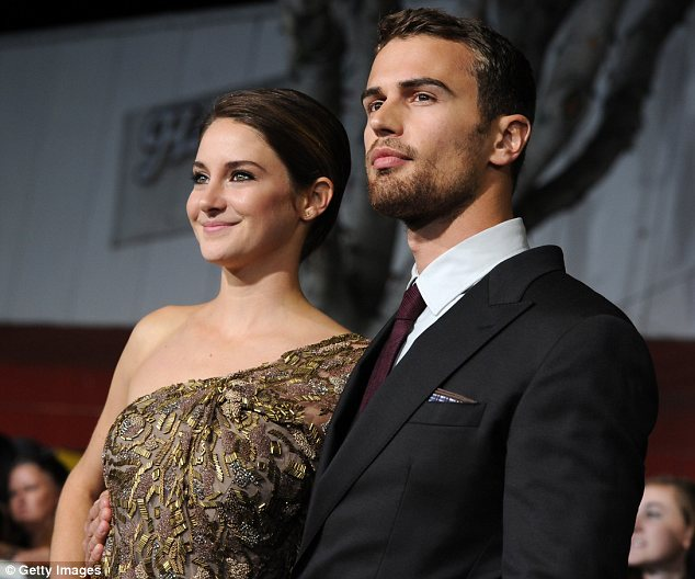 The perfect pair: The casting of both Shailene and Theo won rave reviews from fans of the book series on which the movie is based <br>