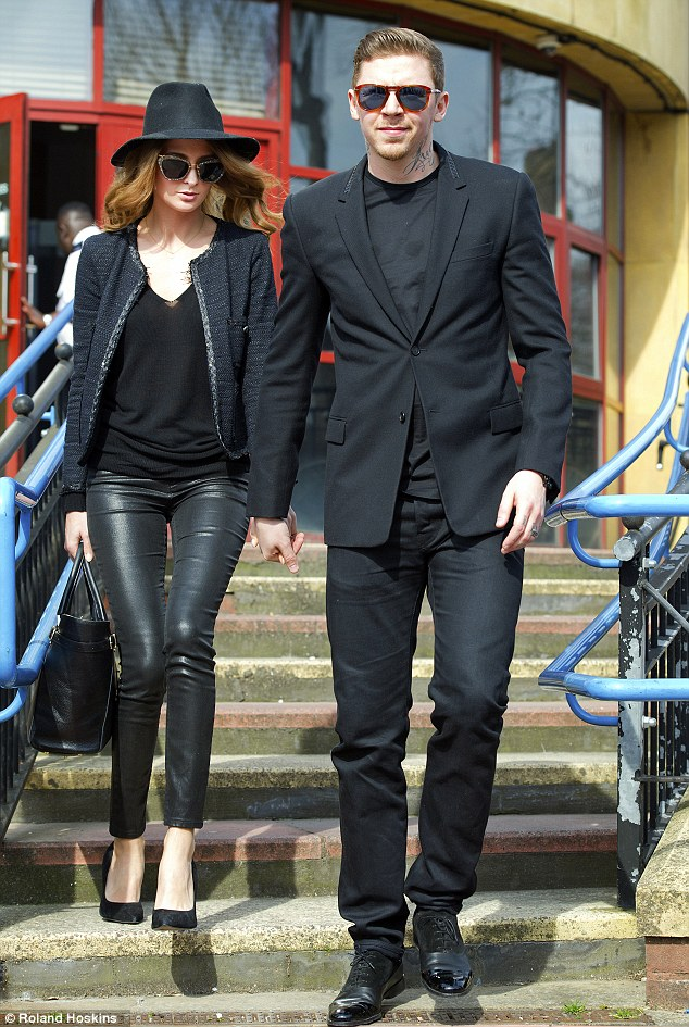 Rapper Professor Green - real name Stephen Manderson - was joined by supportive (and stylish) wife Millie Mackintosh at Bromley Magistrates court today