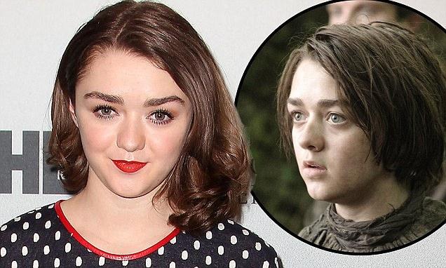 Game Of Thrones Maisie Williams looks nothing like Arya
