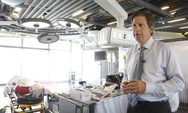 LA doctors practice speeding up trauma care  Daily Mail Online