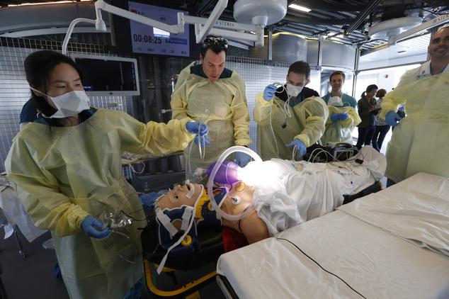 LA doctors practice speeding up trauma care  Daily Mail