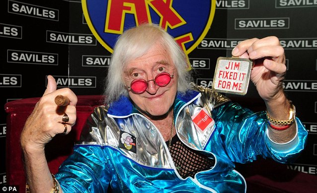 Jimmy Savile at the height of his fame. Claims to be looked at span three decades