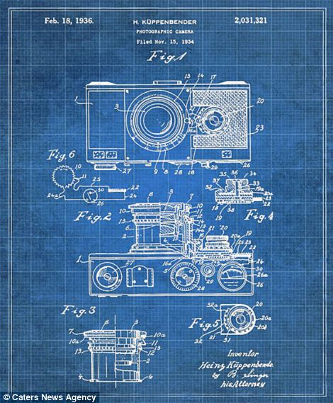 The zoomable compact cameras blueprint is pictured
