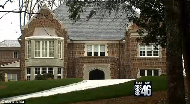 Palatial: The multimillion dollar mansion built for the Archbishop of Atlanta using church funds