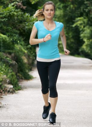 People who do a moderate amount of exercise - about two to three hours jogging a week - live the longest