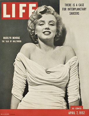 'The Talk of Hollywood': The pictures were taken for the April 7, 1952 cover story of LIFE magazine