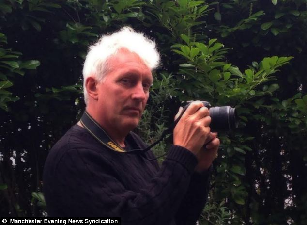 Mr Hyatt insists his photos are genuine and have not been altered in any way