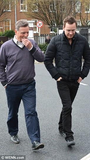Michael Fassbender & father Josef Fassbender