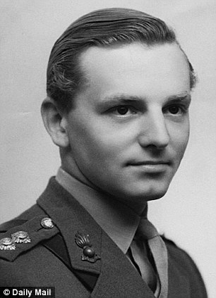 Suffering: Lt John Randall uncovered the horrors of Belsen