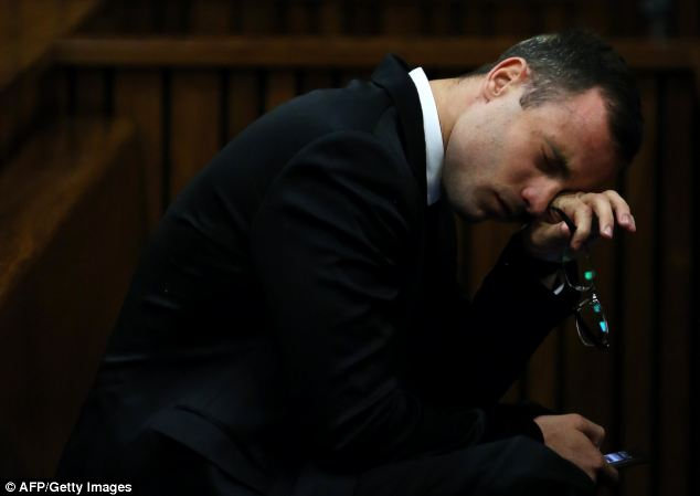 Pistorius has frequently wept and been sick during the more difficult moments of his trial