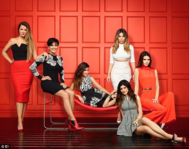 Reality TV royalty: The ninth season of Keeping Up with the Kardashians currently airs Sunday nights on E!